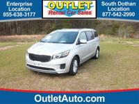 This 2016 Kia Sedona LX is offered to you for sale by