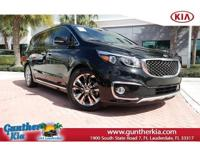 *Kia certified pre-owned!* This is a 2016 Kia Sedona
