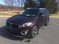 CARFAX One-Owner. Certified. Dark Cherry 2016 Kia
