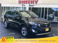 New Price! 2016 Kia Sorento SX Leather Moonroof