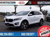 Test drive vehicle!! Only 1,003 miles! White 2016 Kia