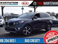 Left over!! Only 310 miles! Gray 2016 Kia Sorento EX
