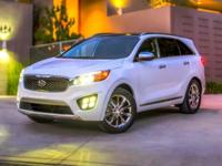 2016 Kia Sorento EX Platinum Graphite 2.0L DOHC Leather
