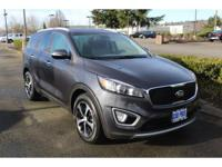 Platinum Graphite 2016 Kia Sorento EX FWD 6-Speed