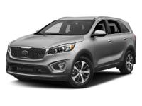 2016 Kia Sorento Snow White PearlCARFAX One-Owner. AWD.