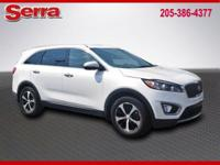 2016 Kia Sorento EX, Snow White Pearl FWD 6-Speed
