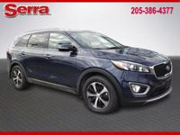 New Price! Blue 2016 Kia Sorento EX FWD 6-Speed