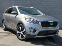 Certified. CARFAX One-Owner.  2016 Kia Sorento EX