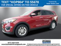 Used 2016 Kia Sorento LX in Red, ** 4cyl - All The