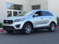 New Price! CARFAX One-Owner. Sparkling Silver 2016 Kia
