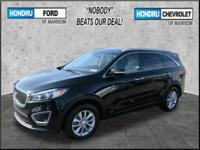 2016 Kia Sorento LX AWD which still has the remaining
