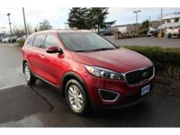 Remington Red 2016 Kia Sorento LX AWD 6-Speed Automatic