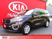 2016 Kia Sorento LX AWD Dark Cherry Blue Tooth, Rear