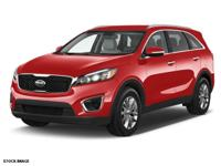 This RED 2016 Kia Sorento AWD 4DR 2.4L LX might be just