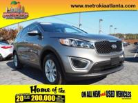 You'll love the look and feel of this 2016 Kia Sorento