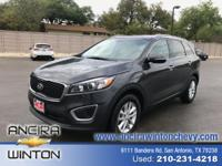 This used Kia Sorento LX is now for sale in San Antonio