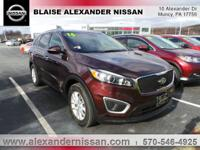 2016 Kia Sorento LX Williamsport area. ALL WHEEL DRIVE,