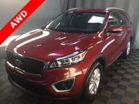 Bluetooth, Backup Camera, 3rd Row Seating, Sorento LX,