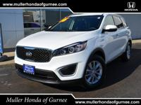 Options:  2016 Kia Sorento Lx|White/|V6 3.3 L