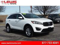 Options:  2016 Kia Sorento Lx V6|Awd Lx V6 4Dr