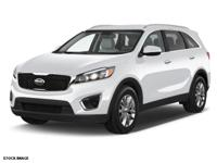 Options:  2016 Kia Sorento Lx|Lx V6 4Dr Suv|3.3L|6