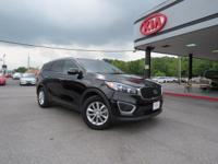 CARFAX One-Owner. Clean CARFAX. Black 2016 Kia Sorento