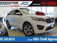 Left over!! Only 21 miles! White 2016 Kia Sorento SXL