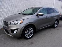 *MUST FINANCE WITH DEALER*This 2016 Kia Sorento SX is