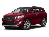 Introducing the 2016 Kia Sorento! Comprehensive style