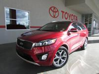 Options:  2016 Kia Sorento Sx V6|Sx V6 4Dr Suv|Thank