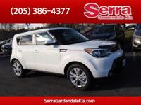Clear White 2016 Kia Soul Plus FWD Automatic 2.0L