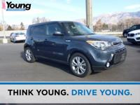 Clean CARFAX. Certified. Blue 2016 Kia Soul Plus FWD