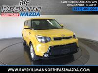 EPA 31 MPG Hwy/24 MPG City! Solar Yellow exterior and