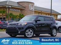 Black 2016 Kia Soul Plus FWD 6-Speed Automatic 2.0L