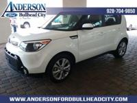 New Price! Clear White 2016 Kia Soul Plus FWD 6-Speed