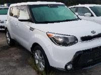 Clear White 2016 Kia Soul Plus FWD 6-Speed Automatic
