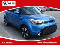 2016 Kia Soul Plus Caribbean Blue CarFax 1 Owner, Clean
