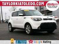 Extended Warranty Available**. Kia 2016 Soul 6-Speed