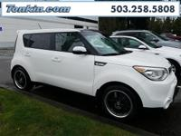 WOW!!! Check out this. 2016 Kia Soul Exclaim White I4