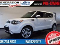 Soul Exclaim, Kia Certified, Clear White, Black