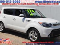Scores 31 Highway MPG and 24 City MPG! This Kia Soul