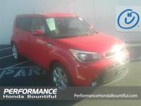 2016 Kia Soul Plus CARFAX One-Owner. Red I4 31/24