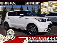 Kia Certified and Clear White. There's no substitute
