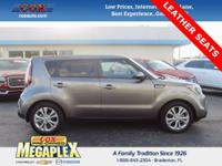 This 2016 Kia Soul Plus in Titanium Gray is well