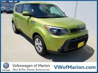 Our fresh-faced 2016 Kia Soul in Green is eager to
