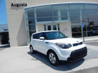 2016 KIA SOUL, WHITE, *BLUETOOTH*, *SIRIUS XM*, *MP3