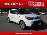 Clear White 2016 Kia Soul FWD Automatic 1.6L 4-Cylinder