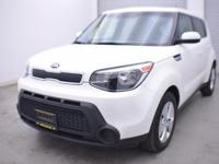 EPA 30 MPG Hwy/24 MPG City! Clear White exterior and