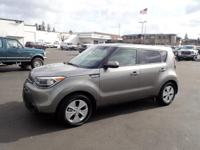 CARFAX One-Owner. 2016 Kia Soul Gray 16 Alloy Wheels,