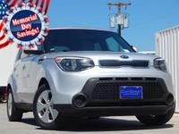 2016 Kia Soul Bright Silver 6-Speed Automatic 4D